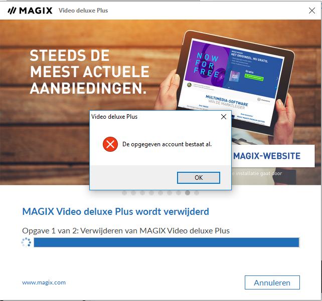 Magix Account