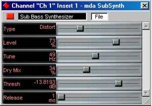 mda subsynth