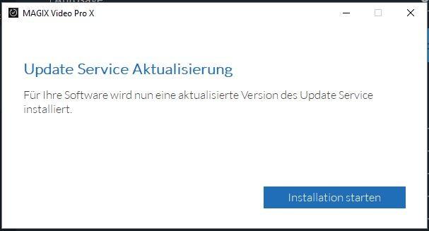 Update Service Aktualisierung