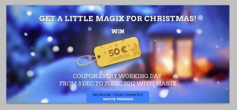 Magix coupon code