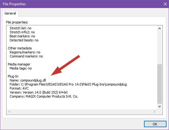 FAQ) Why won't VEGAS open my file correctly? Codecs