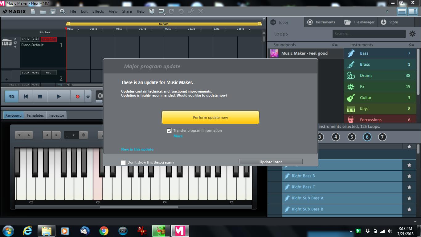 magix music maker 2007 download gratis