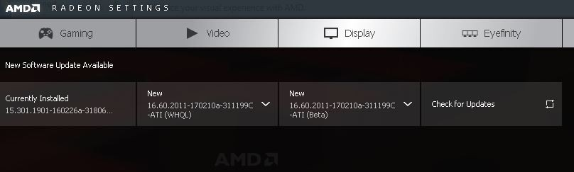 Amd Gpu Not Found After Updating Amd Hd Radeon 6410d Driver