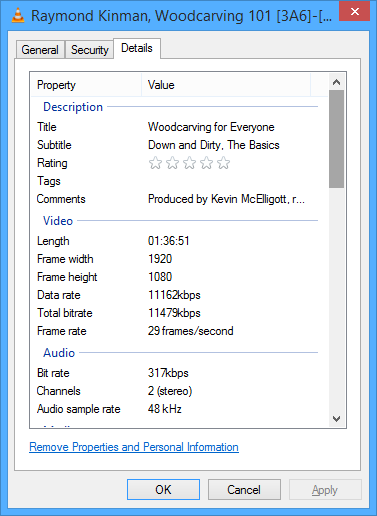 VP16 - Rendering at lower bit rate than requested