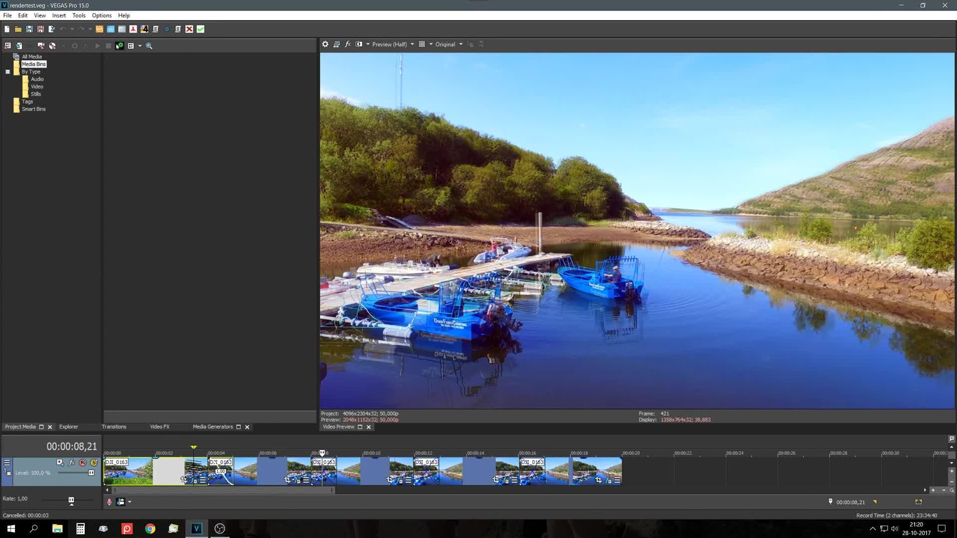 Magix AVC NV rendering issue